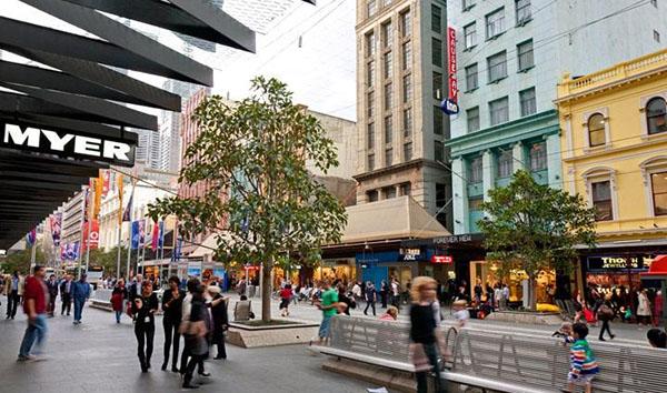 kinh nghiem shopping bourke street mall