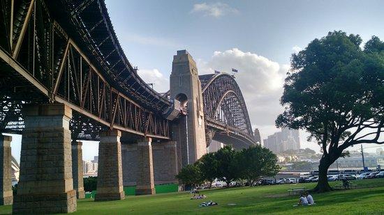 Ngắm cảnh dưới chân cầu Sydney - Milsons Point