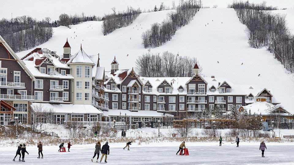 Trượt tuyết và trượt băng ở Blue Mountain