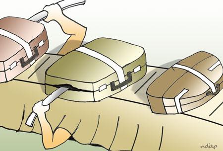 Hành lý bị trộm ở sân bay