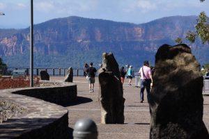 Điểm Echo Points khám phá Blue Mountain ở Úc