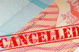 Nguyên nhân Visa du lịch Úc bị hủy tại hải quan Úc
