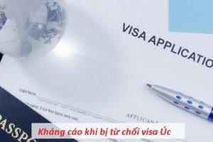 Cách giải quyết khi bị từ chối visa Úc