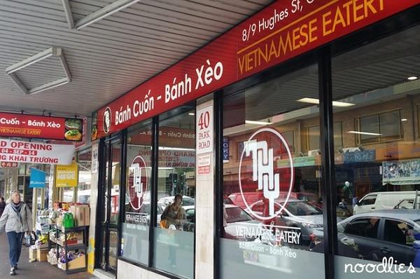 ThyRestaurant 4 quán ăn Việt ngon và lâu đời nhất tại thành phố Sydney Úc