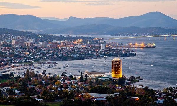 Thành phố Hobart tuy nhỏ mà đẹp của nước Úc